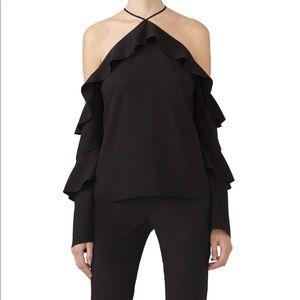 $138 Cooper & Ella Black Isadora Top Medium